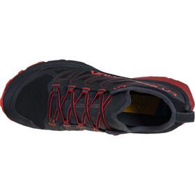 La Sportiva Jackal Chaussures de trail Homme, black/poppy